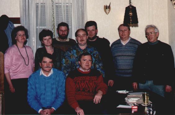 Die neun Gründungsmitglieder
